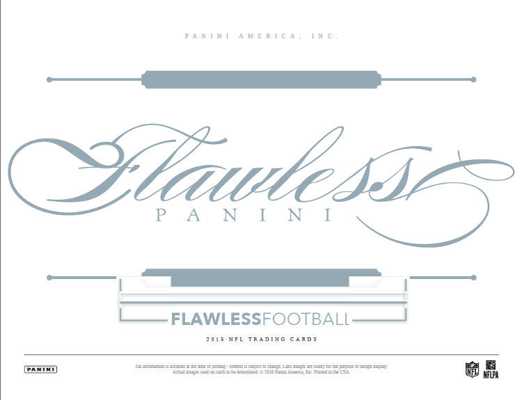 2015 Panini Flawless Football Hobby Box