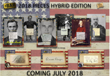 2018 Super Break Pieces of the Past Hybrid Edition 10 Box Hobby Case + 1/1 Promo Pack