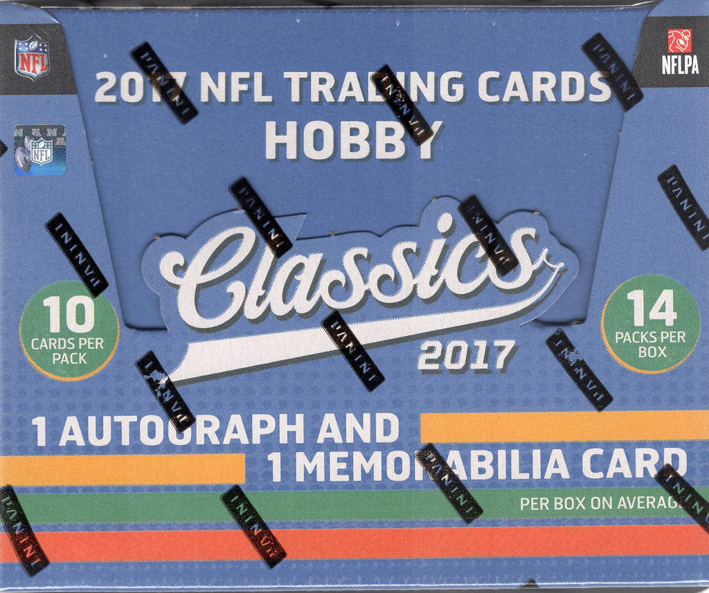 2017 Panini Classics Football Hobby Box + 2 Fathers Day Pack