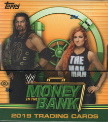 2019 Topps WWE Money in the Bank Wrestling Hobby Box