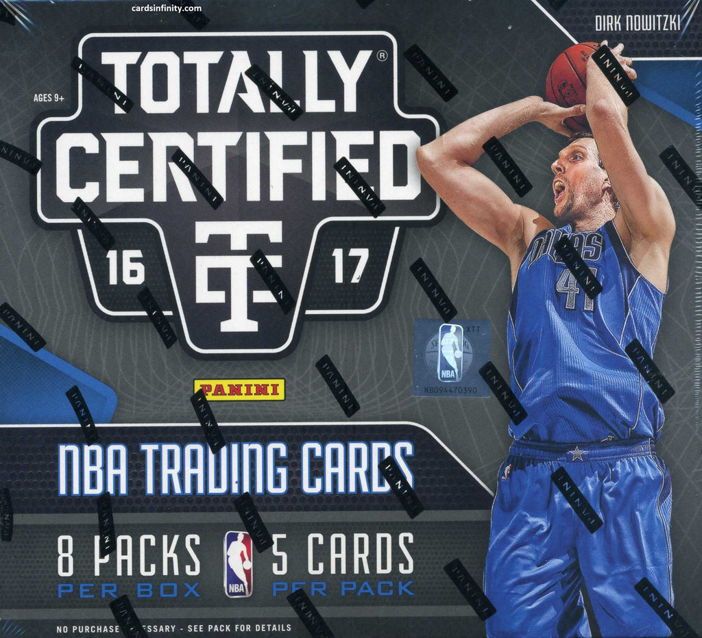 2016/17 Panini Totally Certified Basketball Hobby Box