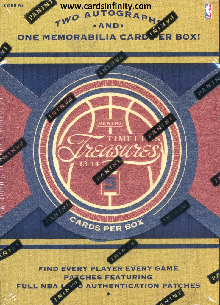 2013/14 Panini Timeless Treasures Basketball Hobby Box