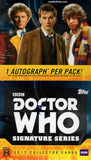 2017 Topps Dr. Doctor Who Signature Series Hobby Box