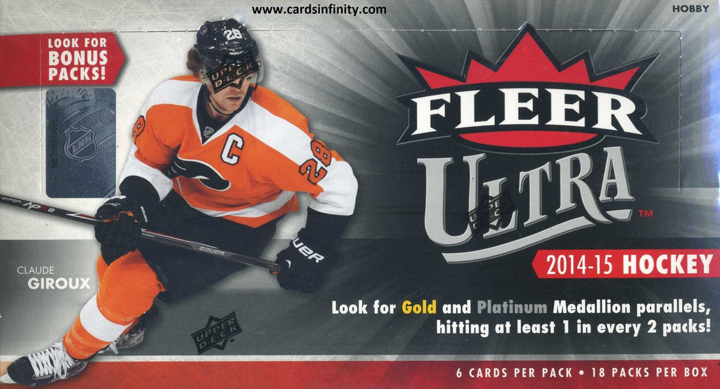2014/15 Fleer Ultra Hockey Hobby Box