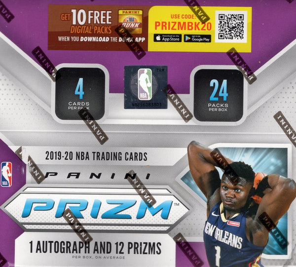 2019/20 Panini Prizm Basketball Retail Box