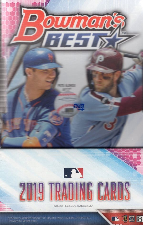2019 Bowman's Best Baseball Hobby Box