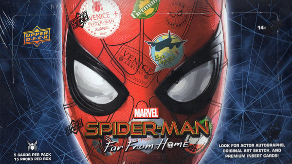 2019 Upper Deck Marvel Spider-Man Far From Home Box