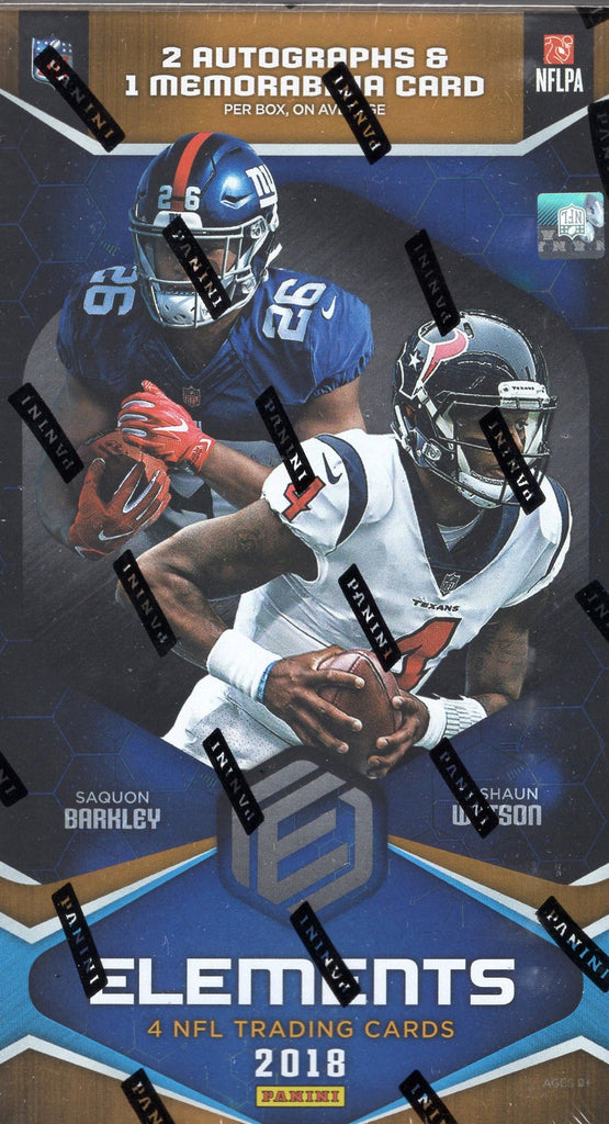 2018 Panini Elements Football Hobby Box