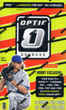 2016 Panini Donruss Optic Baseball Hobby Box
