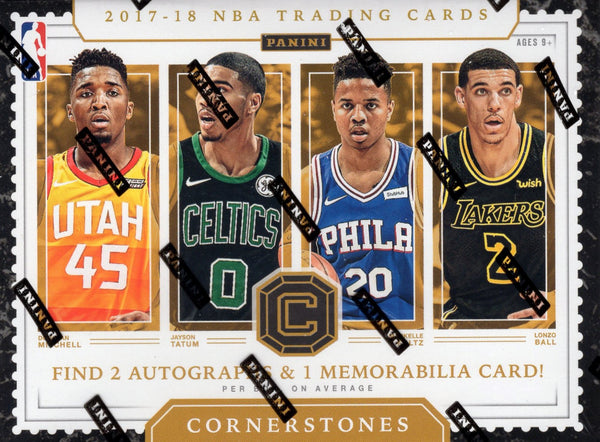 2017/18 Panini Cornerstones Basketball Hobby Box