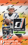 2018 Panini Donruss Football Hobby Box.