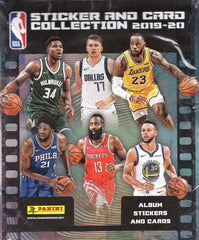 2019/20 Panini NBA Sticker Collection Box
