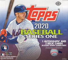 2020 Topps Series 1 Baseball JUMBO Hobby Box