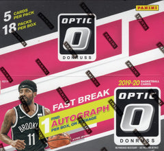 2019/20 Panini Donruss Optic Basketball Fast Break Box