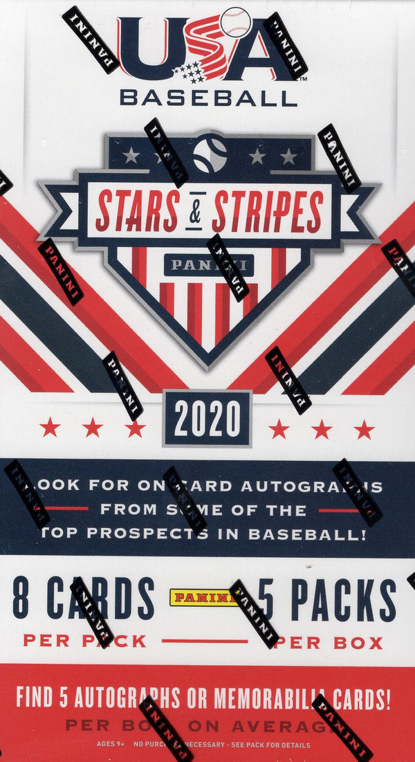 2020 Panini Stars and Stripes Baseball Hobby Box