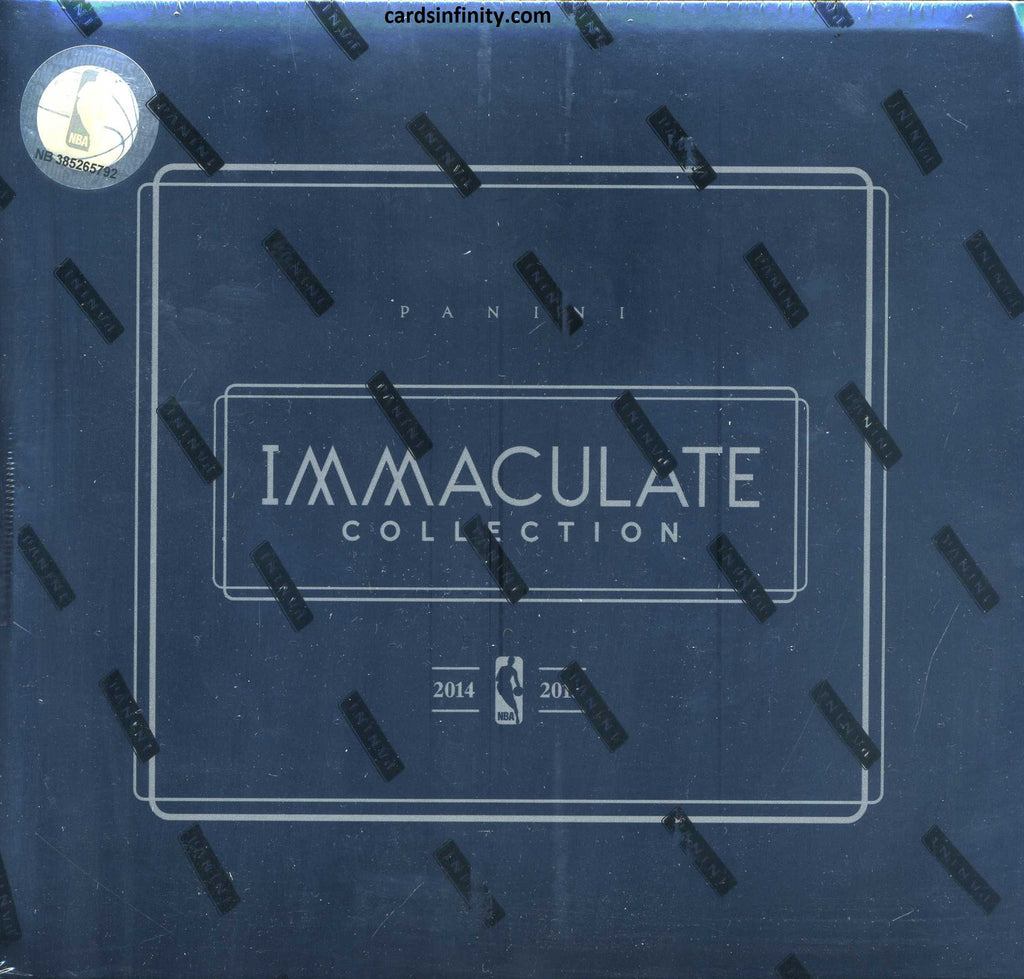 2014/15 Panini Immaculate Basketball Hobby Box