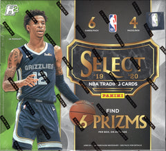 2019/20 Panini Select Hybrid Basketball Hobby Box