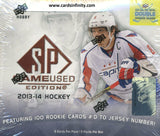 2013/14 Upper Deck SP Game Used Hockey Hobby Box