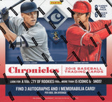 2018 Panini Chronicles Baseball Hobby Box
