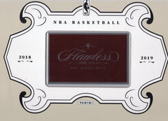 2018/19 Panini Flawless Basketball 1st Off The Line (FOTL) Hobby Box