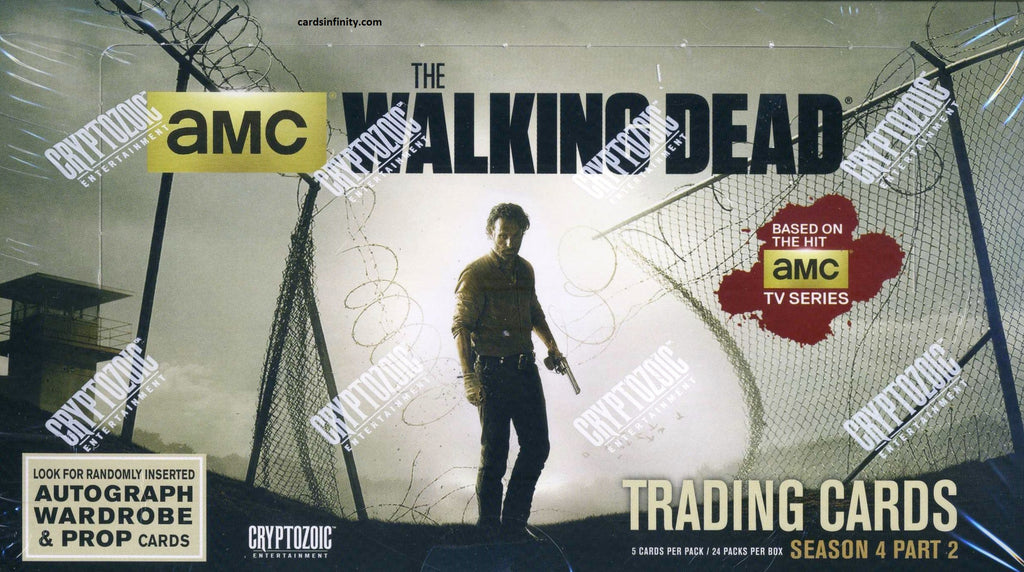 2016 Cryptozoic The Walking Dead Season 4: (Part 2)  Hobby  Box