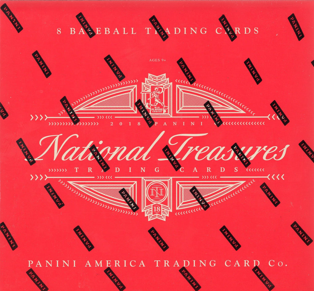 2018 Panini National Treasures Baseball Hobby Box