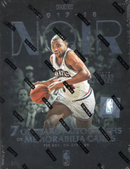 2017/18 Panini Noir Basketball Hobby Box