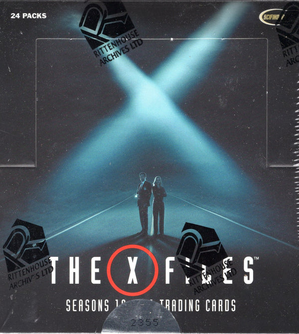 2018 Rittenhouse X-Files Seasons 10-11 Trading Cards Hobby Box