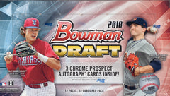 2018 Bowman Draft Baseball JUMBO Hobby Box