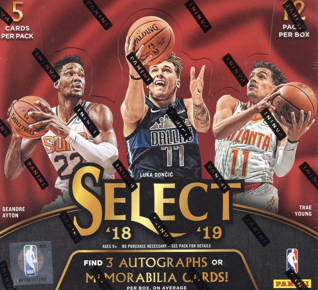2018/19 Panini Select Basketball Hobby Box