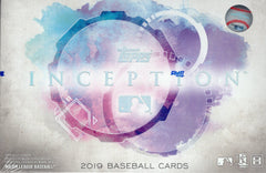 2019 Topps Inception Baseball Hobby Box