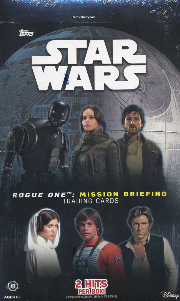 2016 Topps Star Wars Rogue One Mission Briefing Hobby Box