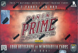 2013/14 Panini Prime Hockey Hobby Box