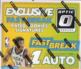 2017/18 Panini Donruss Optic Basketball Fast Break Box