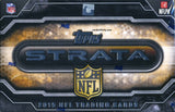 2015 Topps Strata Football Hobby Box