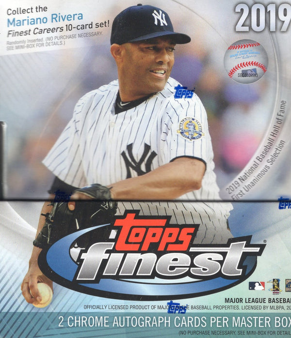 2019 Topps Finest Baseball Hobby Box