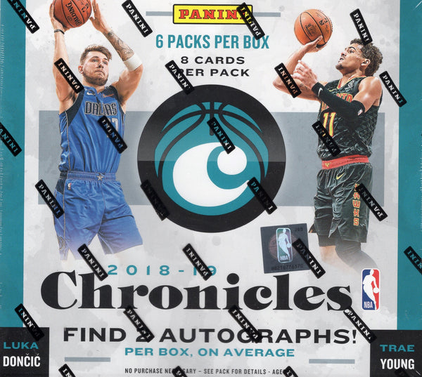 2018/19 Panini Chronicles Basketball Hobby Box