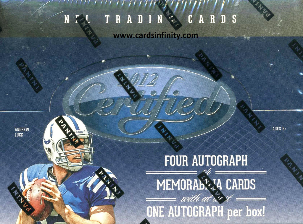 2012 Panini Certified Football Hobby Box