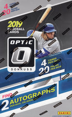 2019 Panini Donruss Optic Baseball Hobby Box