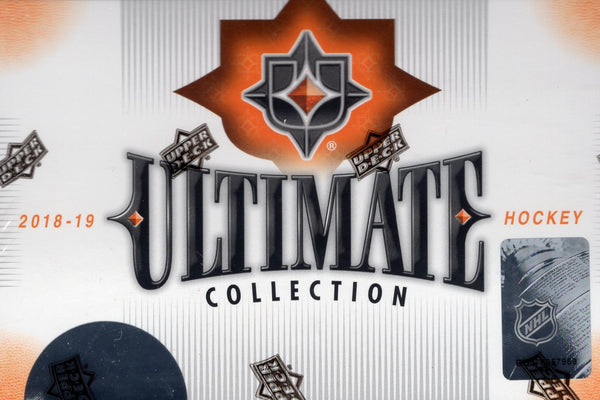 2018/19 Upper Deck Ultimate Collection Hockey Hobby Box