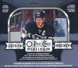 2015/16 O-Pee-Chee Platinum Hockey Hobby Box