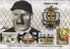 2017/18 Leaf Masked Men Hockey Hobby Box
