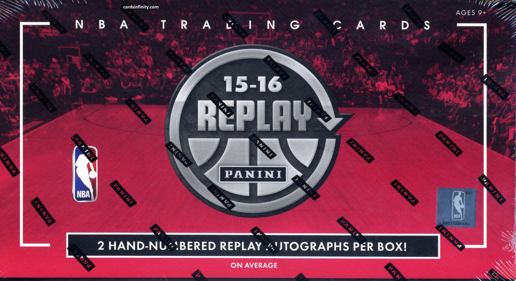 2015/16 Panini Replay Basketball Hobby Box + 1 Mosaic Prizm Box