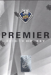 2018/19 Upper Deck Premier Hockey Hobby Box