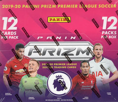 2019/20 Panini Prizm English Premier League Soccer Hobby Box