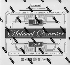 2019 Panini National Treasures College Football Hobby Box