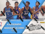 2016/17 Panini Absolute Basketball Hobby Box