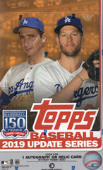 2019 Topps Update Series Baseball Hobby Box
