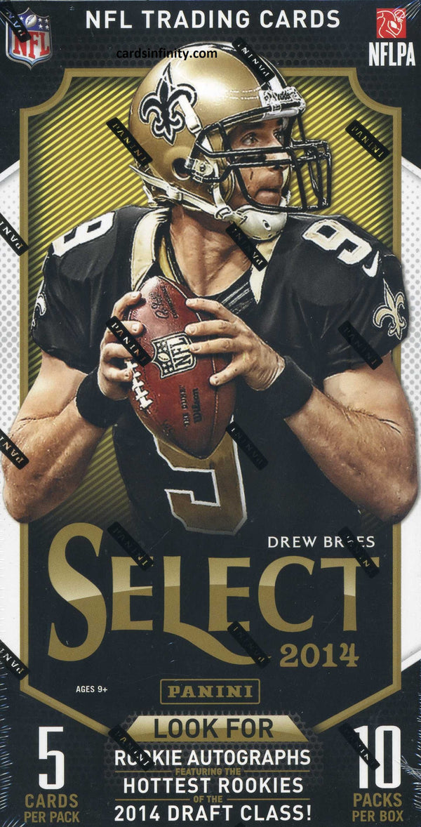 2014 Panini Select Football Hobby Box