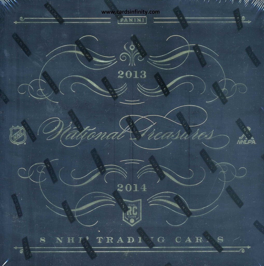 2013/14 Panini National Treasures Hockey Hobby Box